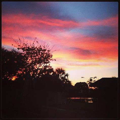 backyard sunset backyard sunsets summer sunset photograph by kathy bright