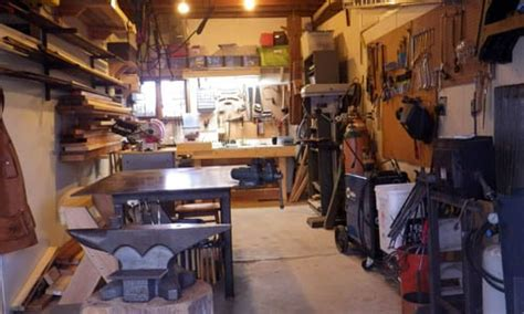 Basement Floor Plan Ideas by How To Turn Your Garage Into A Blacksmithing Amp Woodworking