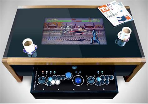 retro arcade coffee table