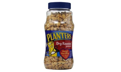 Planters Peanuts 16 Oz by Planters Roasted Peanuts 16 Oz 12 Pack Groupon