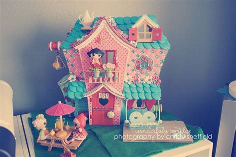 lalaloopsy house customized mini lalaloopsy house lily s pins pinterest