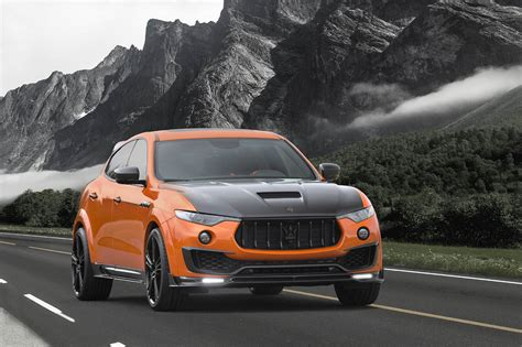 mansory cars maserati levante looks sportier thanks to mansory