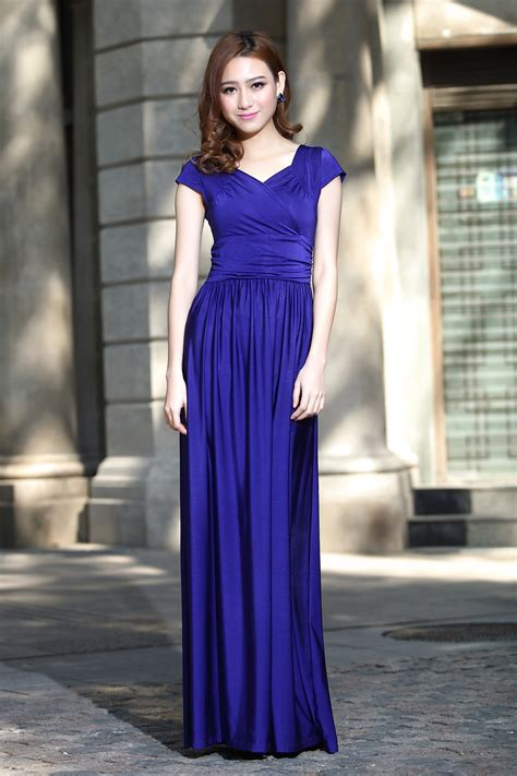 Swiss Navy 1131 cap sleeve formal prom dresses bridesmaid