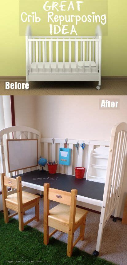 diy toddler desk 25 best ideas about cribs on reuse cribs repurposing crib and baby bed bench