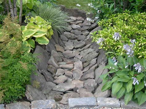 Backyard French Drain Drainage Swale Landscaping Images