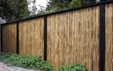 Harga Nan Bambu by ツ 18 Desain Pagar Bambu Cantik Nan Unik Minimalis