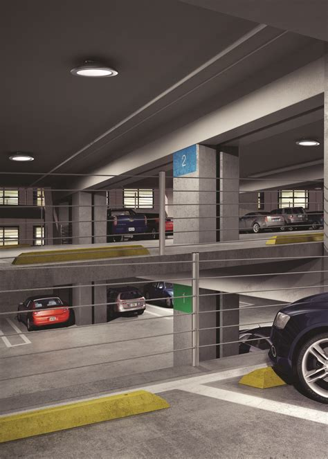 Parking Garage Lighting by Cooper Lighting Introduces Toptier Parking Garage And