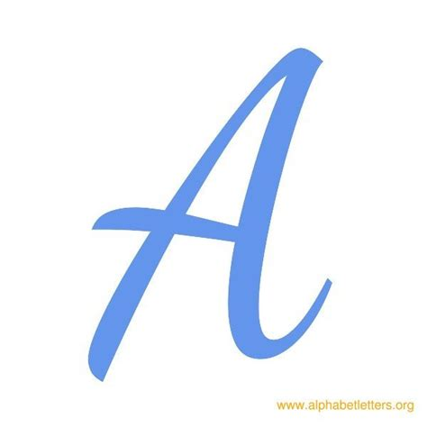 printable alphabet letters in blue cursive a www pixshark com images galleries with a bite