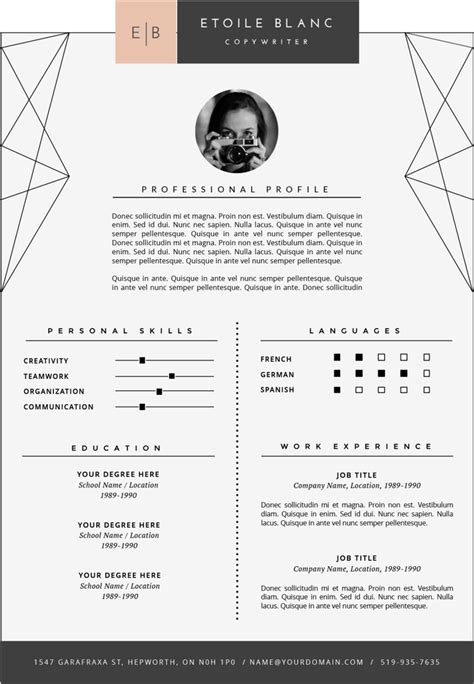 Fonts For Resume by Resume Font Resume Ideas