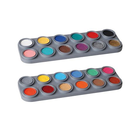 Bodypaint Palette bodypainting farbe k 246 rperfarbe grimas water aqua make up