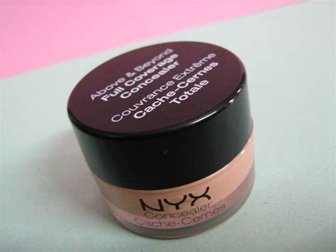 Nyx Coverage Concealer nyx above and beyond coverage concealer provides