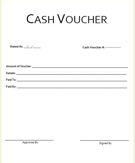 sample payment voucher template sample payment voucher for ms