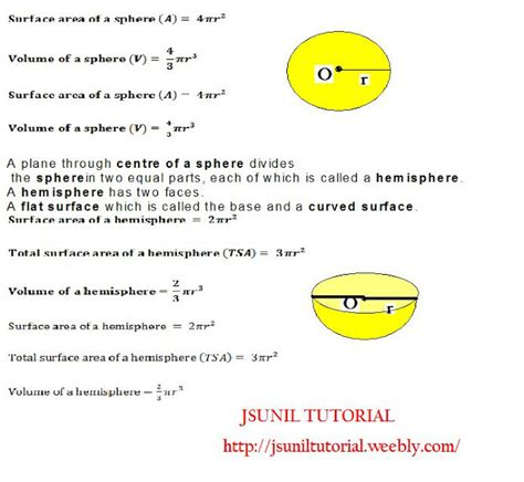 distance and spherical surfaces 1 geometry study guide downloads books cbse math study ix maths surface areas and volumes