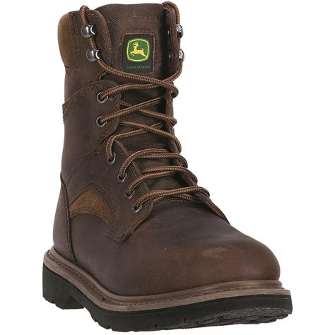 mens lace up work boots deere s 8 quot lace up work boots 678883 work