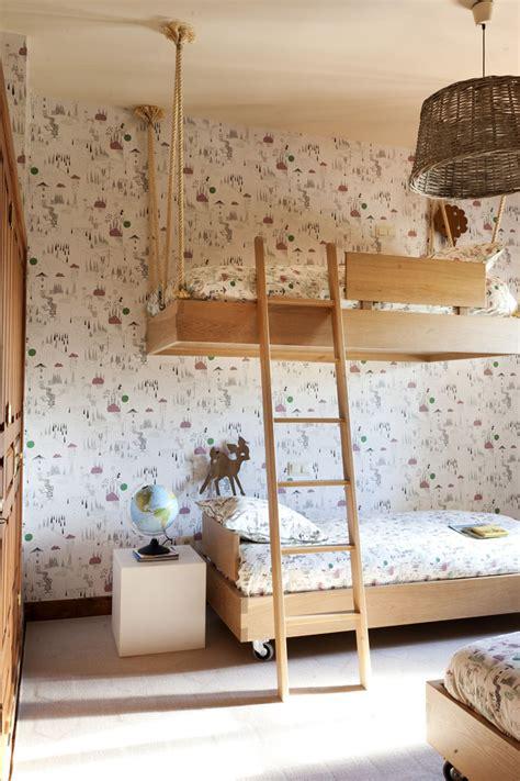 decoracion cama infantil dormitorio infantil para 3 hermanos decopeques
