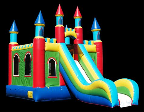 bounce house with slide inflatable party rentals dayton ohio bounce house party invitations ideas