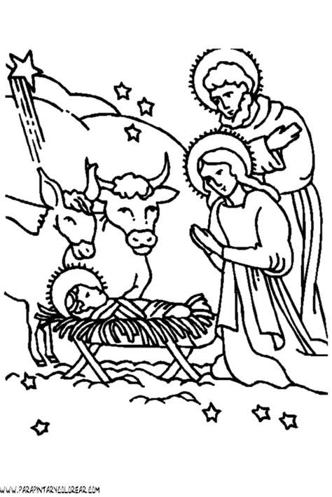 imagenes para colorear nacimiento de jesus free coloring pages of gallinero