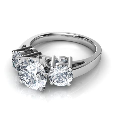 3 Engagement Ring by Three Engagement Rings