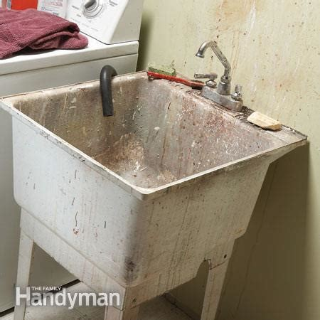 can you paint a plastic bathtub upgrade your laundry sink the family handyman
