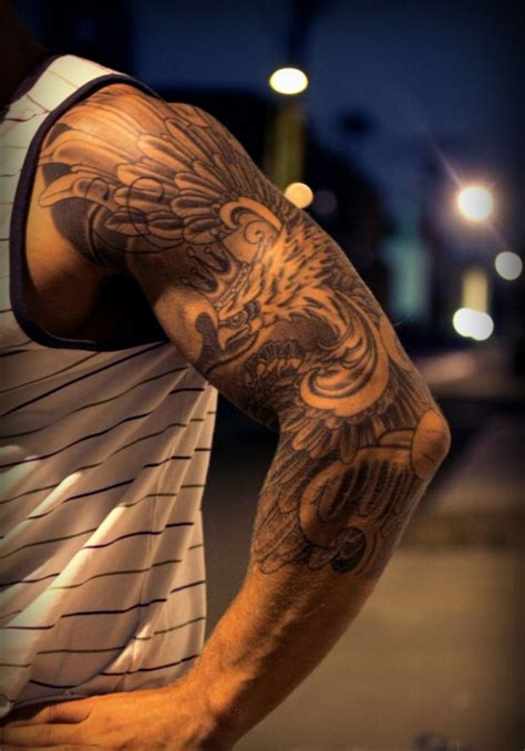 tattoo on half arm half sleeve tattoos for men tumblr tattoos pinterest