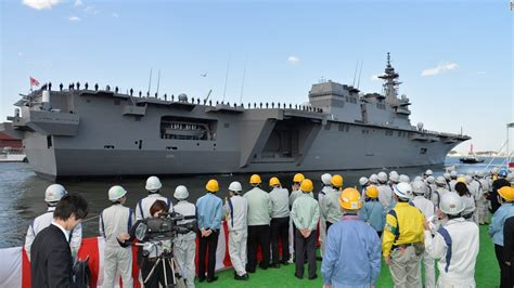 boat show japan japan s self defense force commissions new warship cnn