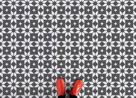 Tile Patterns For Bathrooms why moroccan tile print vinyl flooring is so right love