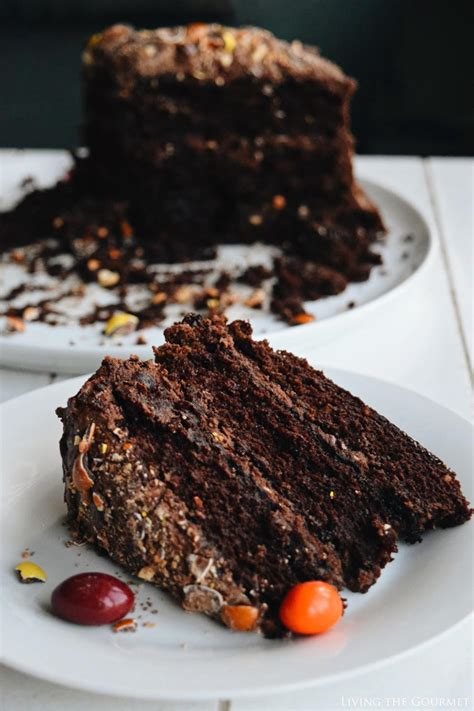 Gourmet Cakes by Coffee Nut Chocolate Cake Living The Gourmet