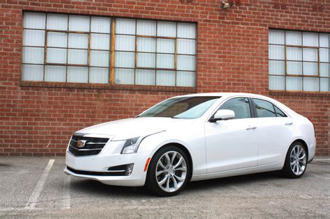 cadillac ats white rightful heir to the throne cadillac ats factorytwofour