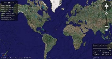 view google earth  web browser  easy switching