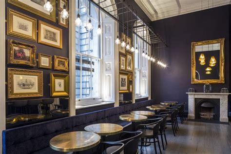 cafe interior design uk pennethorne s caf 233 bar by shh architects london uk