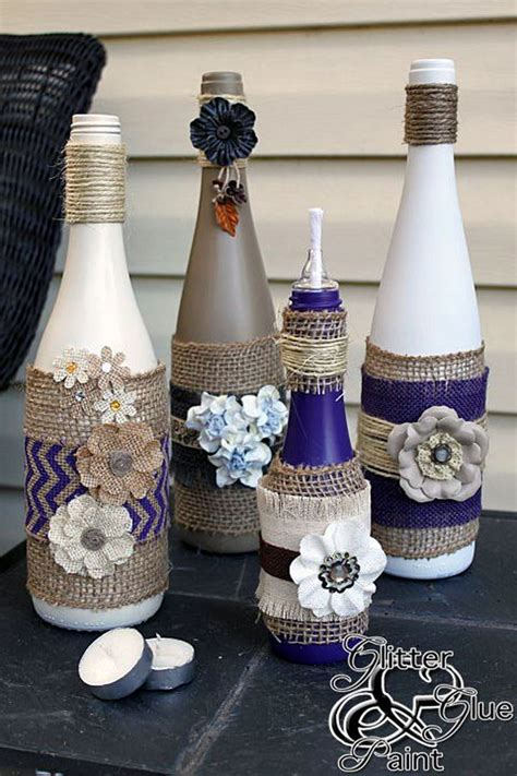 wine bottle wedding decoration ideas creative wine bottle centerpieces lots of table