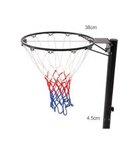 basketball stand hoop net system portable pole height