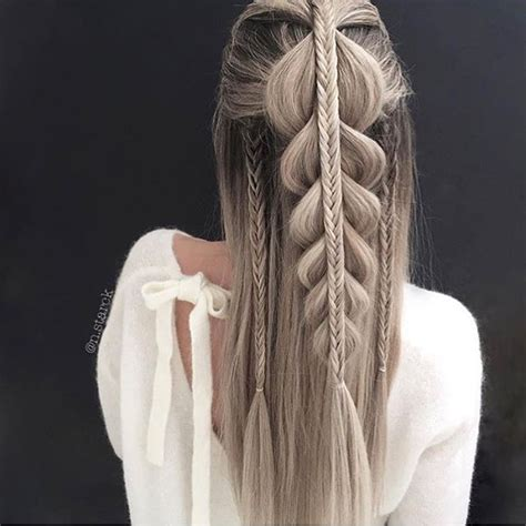 pull through braid easy hairstyles cute girls hairstyles 71 best braids images on pinterest cute hairstyles easy