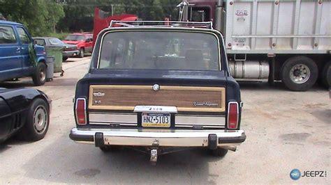 87 jeep wagoneer 87 jeep grand wagoneer
