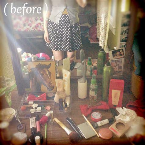 dresser top organization ideas makeup organization a beautiful mess