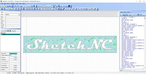 Drawing G Code Program by Ncplot Tools For Cnc Programmers