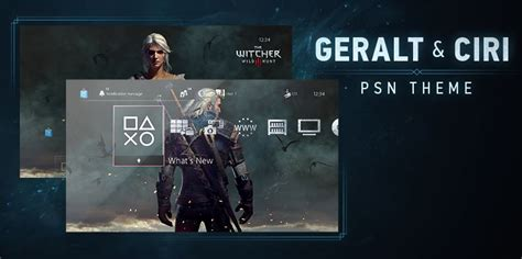 ps4 themes witcher 3 ps4 gets new witcher 3 free theme gamespot