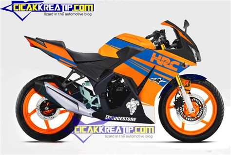 Shock Cbr Lokal Modifikasi Honda Cbr150r Combination Of Colors And