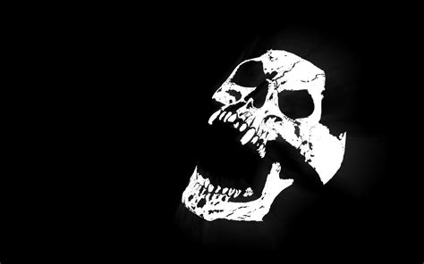 wallpaper black and white skull white skull with black background walls town