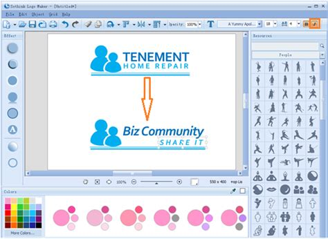 edit logo text how to create professional biz logos in minutes