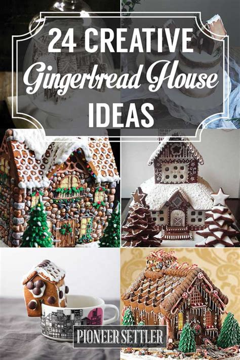 cool gingerbread house designs 24 gingerbread house ideas pioneer settler