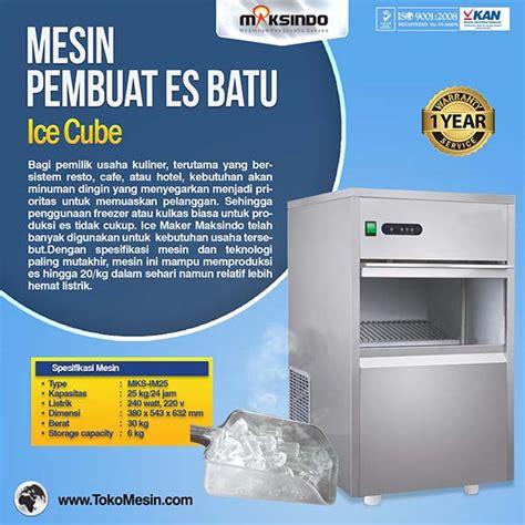 Freezer Pembuat Es Batu mesin es batu terbaru toko mesin maksindo