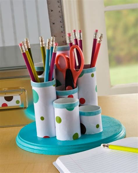 Pin By Amy Mod Podge Rocks On Crafty Stuff I Like Pinterest Toilet Desk Organizer