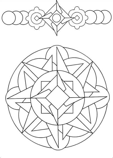 Disegni da Colorare Mandalas 27 | Mandalas para colorir