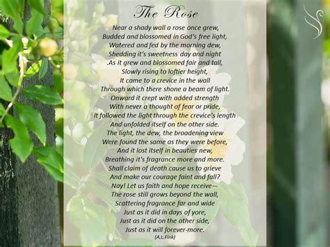 Funeral Poem God S Garden Funeral Poems General Walled Garden Poem