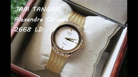 Jam Tangan Alexandre Christie 3030 Ld Gold review jam tangan alexandre christie 2668 ld gold by www
