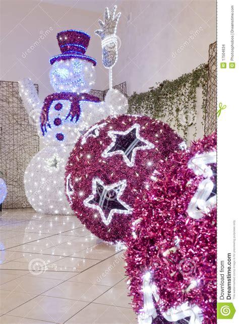 imagenes hermosas de navidad grandes bolas grandes de la navidad imagenes de archivo imagen