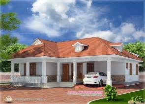 kerala style home plans single floor 1850 sq feet kerala style home elevation home kerala plans