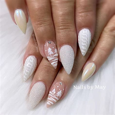 winter nail colors on pinterest winter nails nail wnter nails christmasnails kortenstein nails