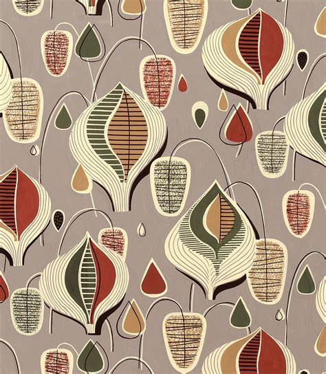 vintage patterns 1950s a textiles